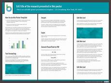 Research Poster Template Free 7 Awesome Powerpoint Poster Templates Free Amp Premium
