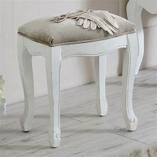 dressing table stool elise white range melody maison 174