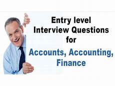 Interview Questions Accounting Accounting Interview Questions Answers