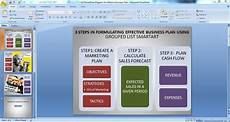 Business Plan Presentation Powerpoint Using Powerpoint Diagrams For Making Effective Business Plans