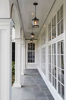 The Porch Light Lovely White Porch The Natural Light Would Be Amazing