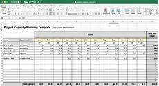 Project Planning Excel Sheet Project Capacity Planning Template This Excel Sheets