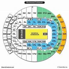 Richmond Coliseum Wwe Seating Chart Richmond Coliseum Seating Chart Seating Charts Amp Tickets