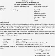 contoh surat undangan guru contoh isi undangan