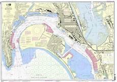Noaa Chart 13205 Noaa Chart 18773 San Diego Bay
