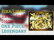 Light Light Devil Fruit Pika Light Devil Fruit Showcase One Piece Legendary