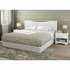 South Shore Bedroom Set South Shore Step One King 4 Bedroom Set In White