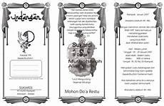 desain undangan pernikahan lipat 3 download undangan gratis desain undangan pernikahan