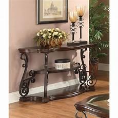 coaster brown sofa table 702449