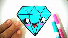desenho simples como desenhar diamante kawaii f 225 cil e bonito desenhos