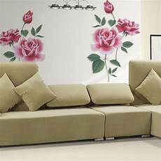 flower removable wall vinyl decal home decor wall