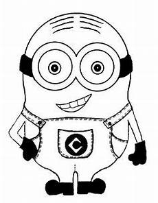 one eye minion despicable me coloring pages my abc