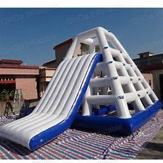 Floating Slide Giant Inflatable Floating Water Slide Inflatable Water