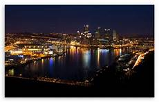 Pittsburgh City Iphone Wallpaper by Downtown Pittsburgh Skyline 4k Hd Desktop Wallpaper For