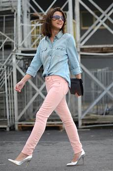 Light Pink Shirt What Color Pants Streetstyle Pink Pants Belighter
