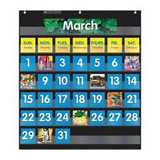 Scholastic Calendar Pocket Chart Scholastic Teaching Resources Monthly Calendar Pocket