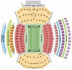 Nebraska Cornhuskers Memorial Stadium Seating Chart Memorial Stadium Tickets And Memorial Stadium Seating