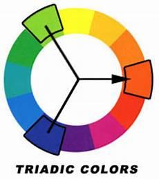 Triadic Color Scheme Exles Color Scence