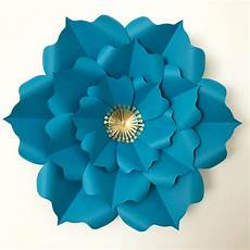 Paper Flower Template Pdf Paper Flower Template Digital Version The Temple
