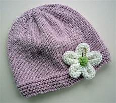 knit hat with flower patterns a knitting