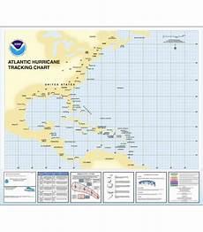 Hurricane Camille Tracking Chart Hurricane Tracking Chart Western Atlantic By Noaa Oceangrafix