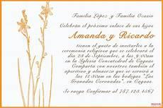 Invitaciones De Boda Ejemplos Invitaciones Matrimoniales Ejemplos Textos De