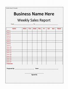 Sales Representative Weekly Report Sample 15 Weekly Marketing Report Templates Excel Pdf Formats