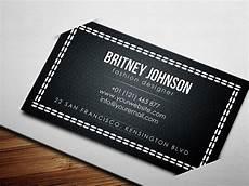 Clothing Designer Business Cards Fashion Designer Business Card Psd Free Download