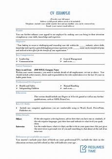 Resume Cv Examples Cv Examples And Samples Tips To Make A Winning Cv