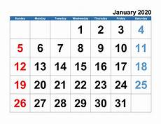 Large 2020 Calendars Monthly Calendar 2020 Big Font Full Calendar Shelter