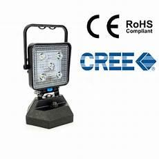 12v Led Magnetic Work Light Portable Magnetic Base 15w Cree Led Work Light Flood Lamp