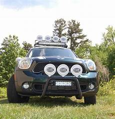 Mini Countryman Light Bar Bolt On Bull Bar Kit Available For R55 R59 Mini And R60
