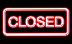 Closed For Business Sign Crossfit Gyms Closing What Went Wrong Wodstar