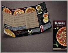 Tazinos Pizza Tazinos Pizza Amp Salad Bistro Menu On Behance