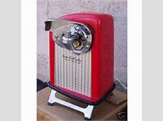 RIVAL CAN O MATIC ELECTRIC CAN OPENER * RED * 1950'S (07