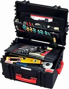 Werkzeugboxen Leer by Parat Werkzeugkoffer Parapro Rollbar Leer