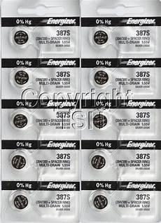 Bulova Watch Battery Chart 10 Energizer 387s 387 Watch Battery Bulova Accutron 214