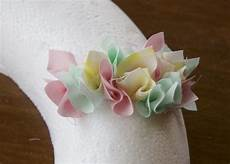 fabric wreath craft a simple project using fabric