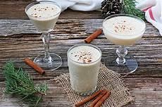eggnog christmas drink