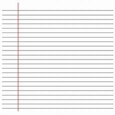 Notebook Paper Template For Word Free 9 Sample Notebook Paper Templates In Pdf
