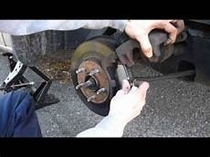 Service Manual Brake Change On A 2006 Ford Five Hundred