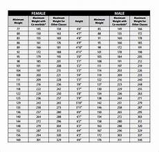 Weight Chart For Height Free 7 Sample Height Weight Chart Templates In Pdf Ms Word
