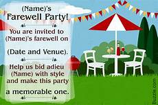 Invitation Card For Farewell Party To Seniors 10 Farewell Party Invitation Wordings To Bid Goodbye In Style