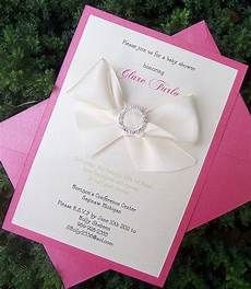 Pink Invitations Items Similar To Baby Shower Invitation Pink Shower