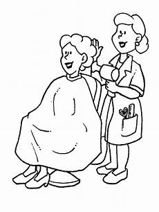Kinder Malvorlagen Berufe Ausmalbilder Berufe Friseur Freeprintables Coloringpages