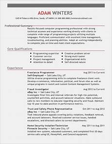 A Good Summary For A Resume 15 Simple But Important Realty Executives Mi Invoice