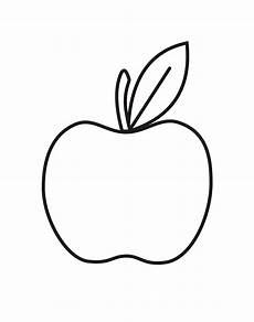 apple coloring pages to and print for free