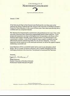 Letter Of Recommendation Teacher Letter Of Recommendation From Judith Nickerson Faculty Of