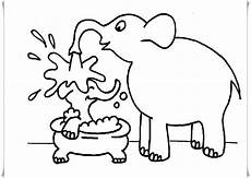 ausmalbilder elefant