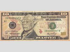 Dollar Bill Doodles Turn U.S. Presidents Into Pop Culture